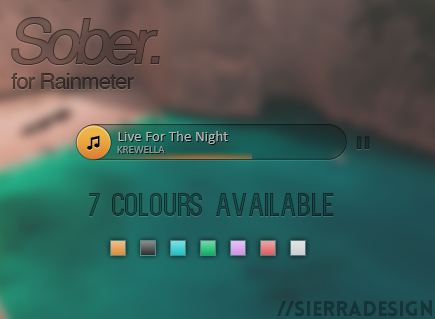 Sober Music Player