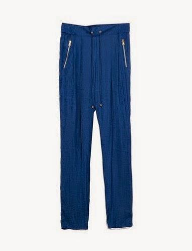 Pantalones fluidos, baggy Zara