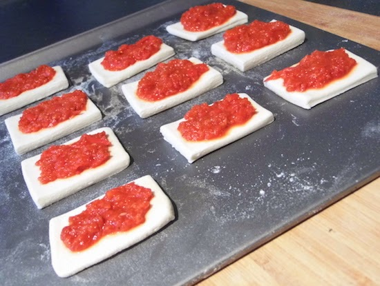 Emily 39 s recipes and reviews uk food blog for Puff pastry canape ideas
