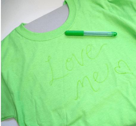 el yapımı tişört