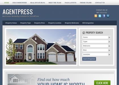 tema para site de imobiliária