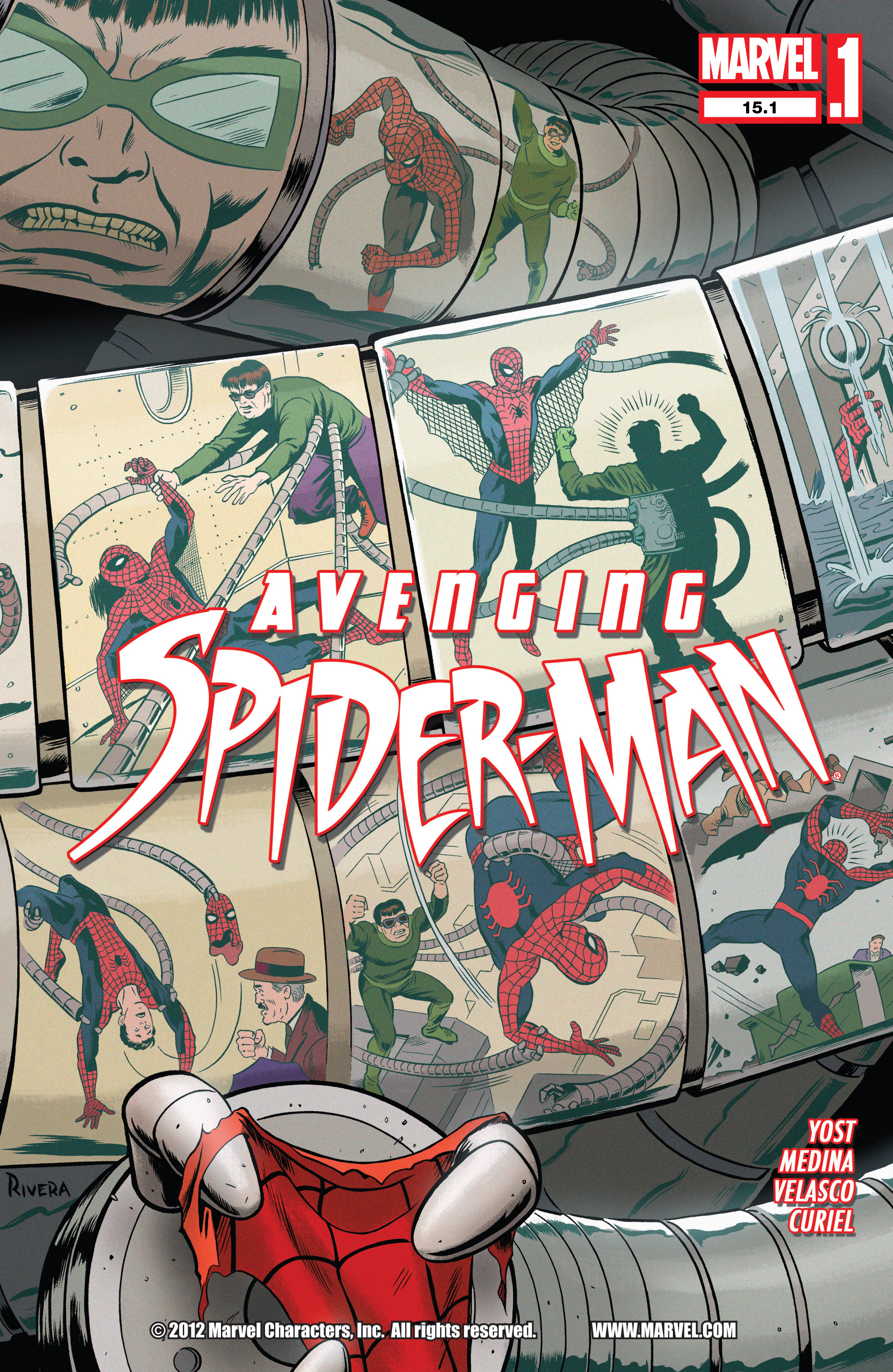 Avenging Spider-Man issue 16 - Page 1