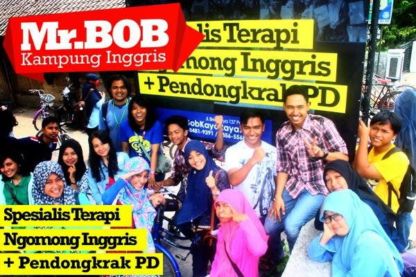 Kampung Inggris Pare Mr.BOB : Spesialis terapi ngomong inggris + pendongkrak PD - SMS/WA : 0857-8481-9391 / 0856-5568-1416.