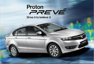Proton Preve Model Terbaru Proton 2012