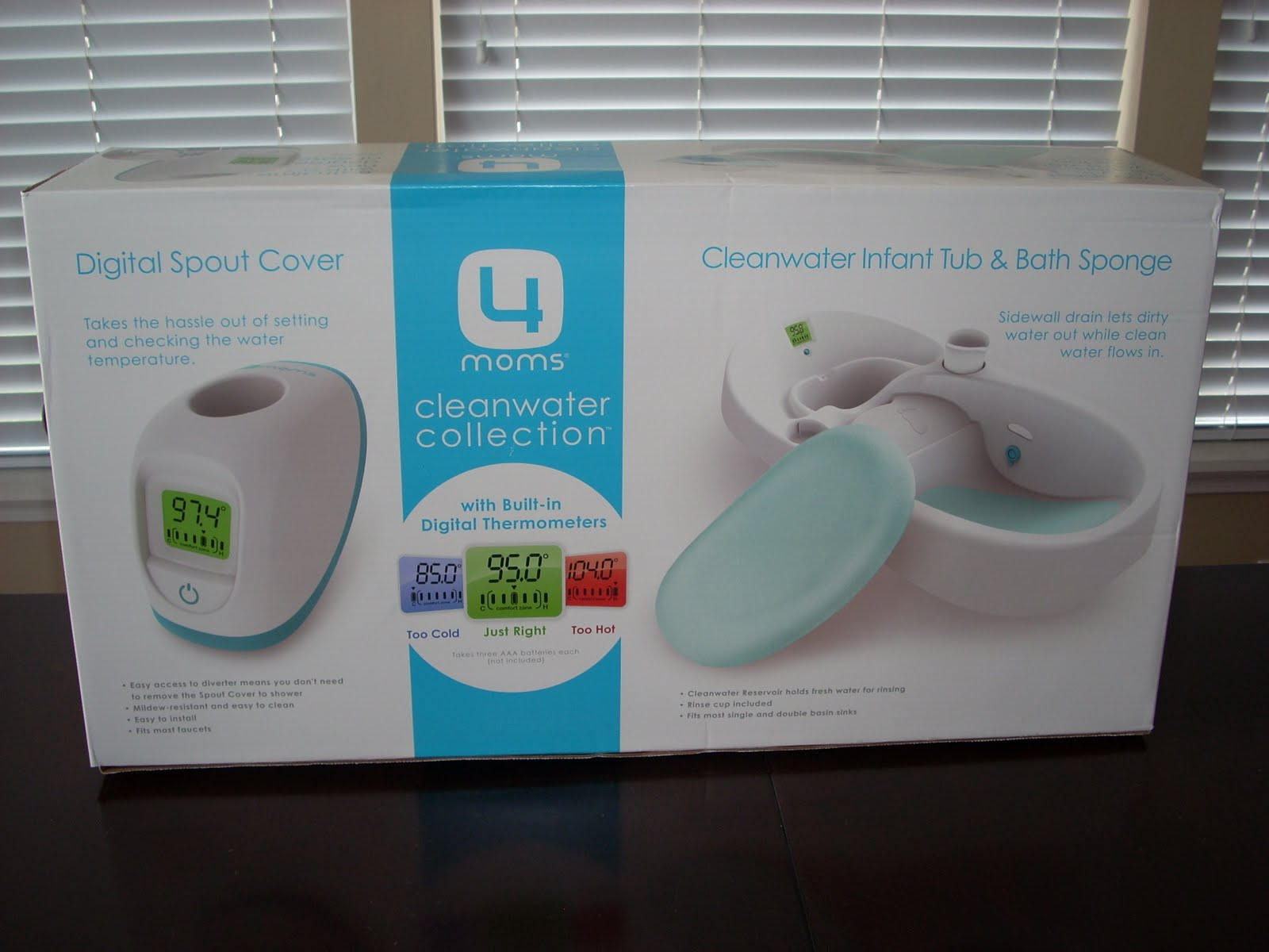 Mom Mart: 4moms Cleanwater Collection Review