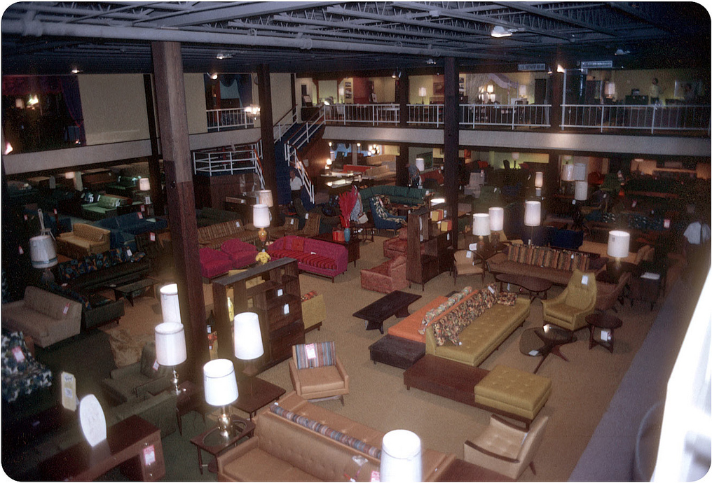mad for mid century mid century furniture store in 1965