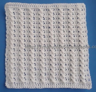How to Knit a twisted-stitch cable pattern « Knitting