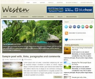 Westen-Blogger-Template