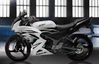 New Kawasaki Ninja RR Facelift Terbaru 2012
