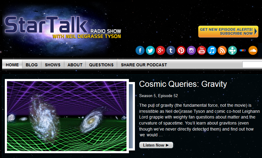 Star Talk Radio Live