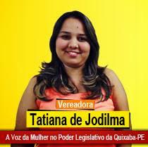 Vereadora Tatiana de Jodilma