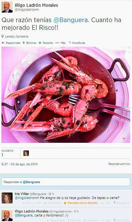 Restaurante-ElRisco-Laredo-Twitter-@Banguera