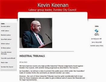 Councillor Kevin Keenan
