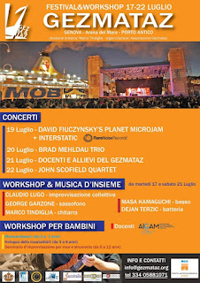 Giovedì 19 luglio all'interno del Genova Jazz Festival Serata dedicata alle proposte musicali di RareNoise Records, Con i concerti di InterStatic e di David Fiuczynski