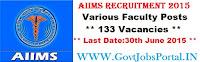 AIIMS Recruitment 2015