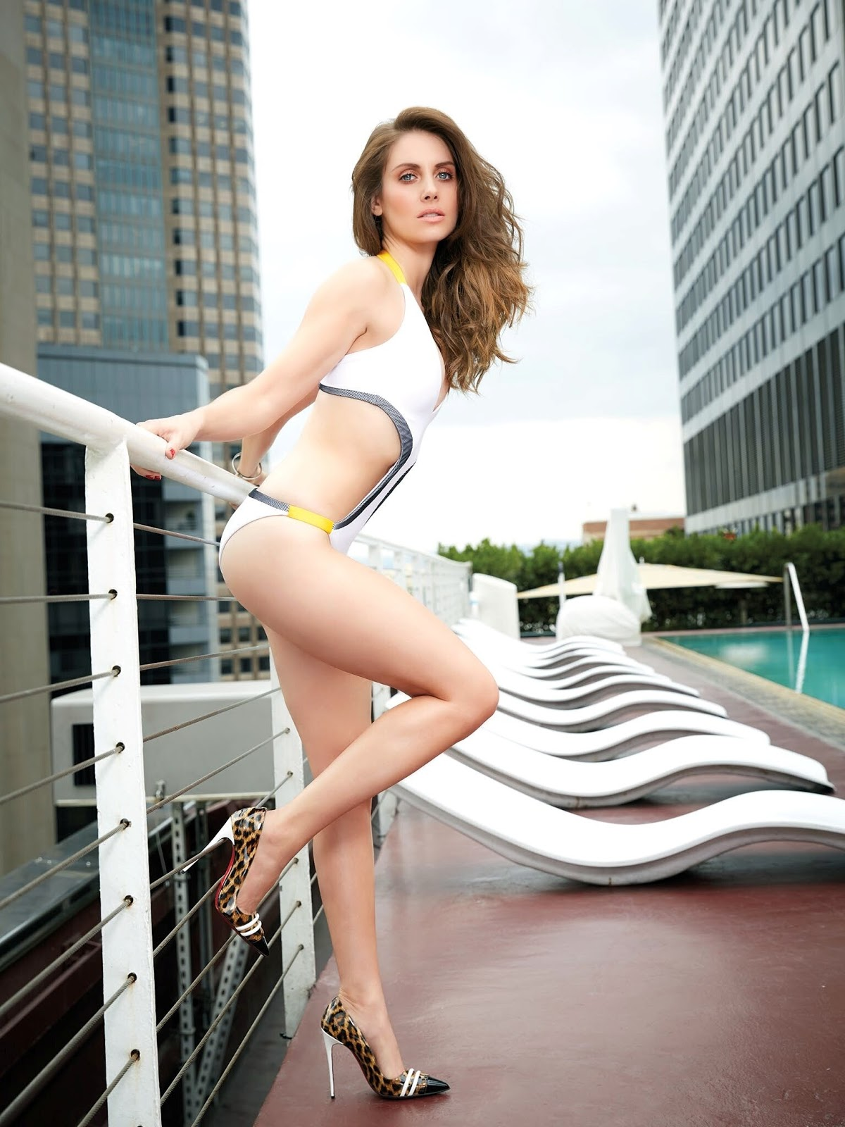 Alison brie gillian jacobs pinup special Part 3 6