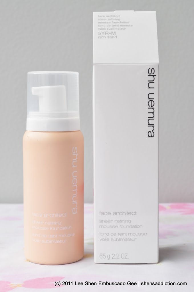 LifeShu Mousse The Face Sheer Uemura Refining Architect Uncurated by7Yfg6