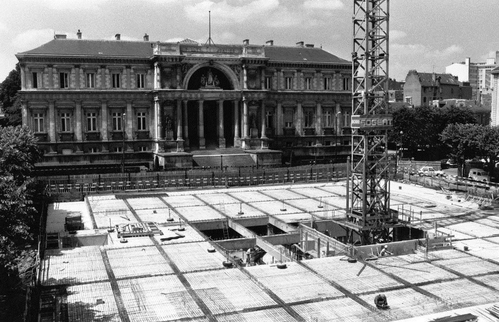 Nantes la ville d 39 apr s guerre janvier 2015 for Construction piscine nantes
