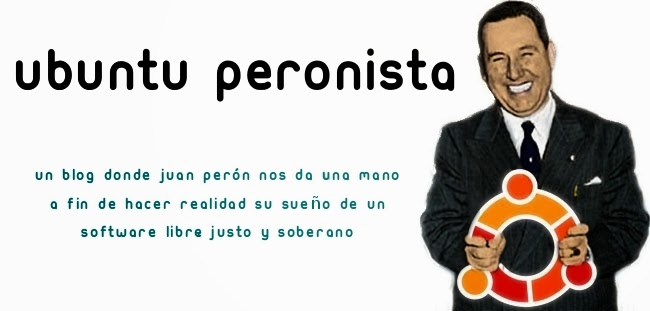 Ubuntu Peronista Un blog donde el General da consejos sobre Ubuntu