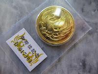 10万円金貨 平成2年 御即位記念 ケース入り