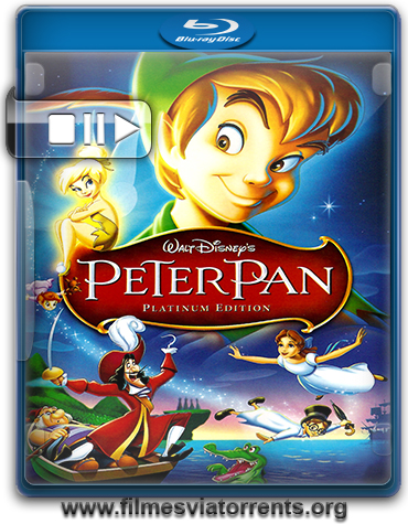 As Aventuras de Peter Pan Torrent - BluRay Rip 720p e 1080p Dual Áudio 5.1 (1953)