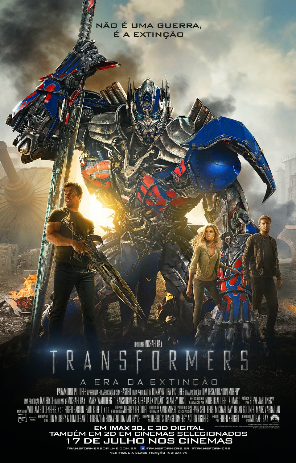 capa Download – Transformers: A Era da Extinção – HDRip AVI + RMVB Legendado
