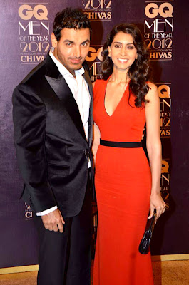 John Abraham Priya - GQ Men of the Year 2012