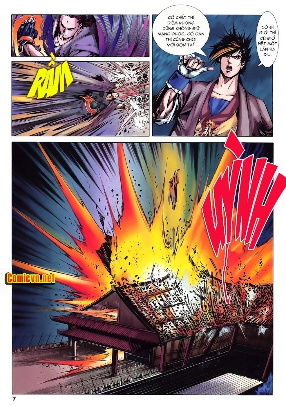 Lục Đạo Thiên Thư chap 15 - Trang 7
