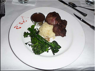 angus filet on the Yacht StarShip11