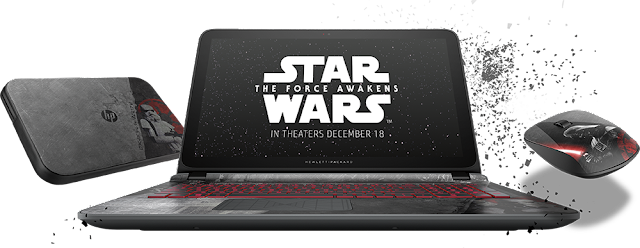 HP Star Wars Notebook Join the Dark Forces