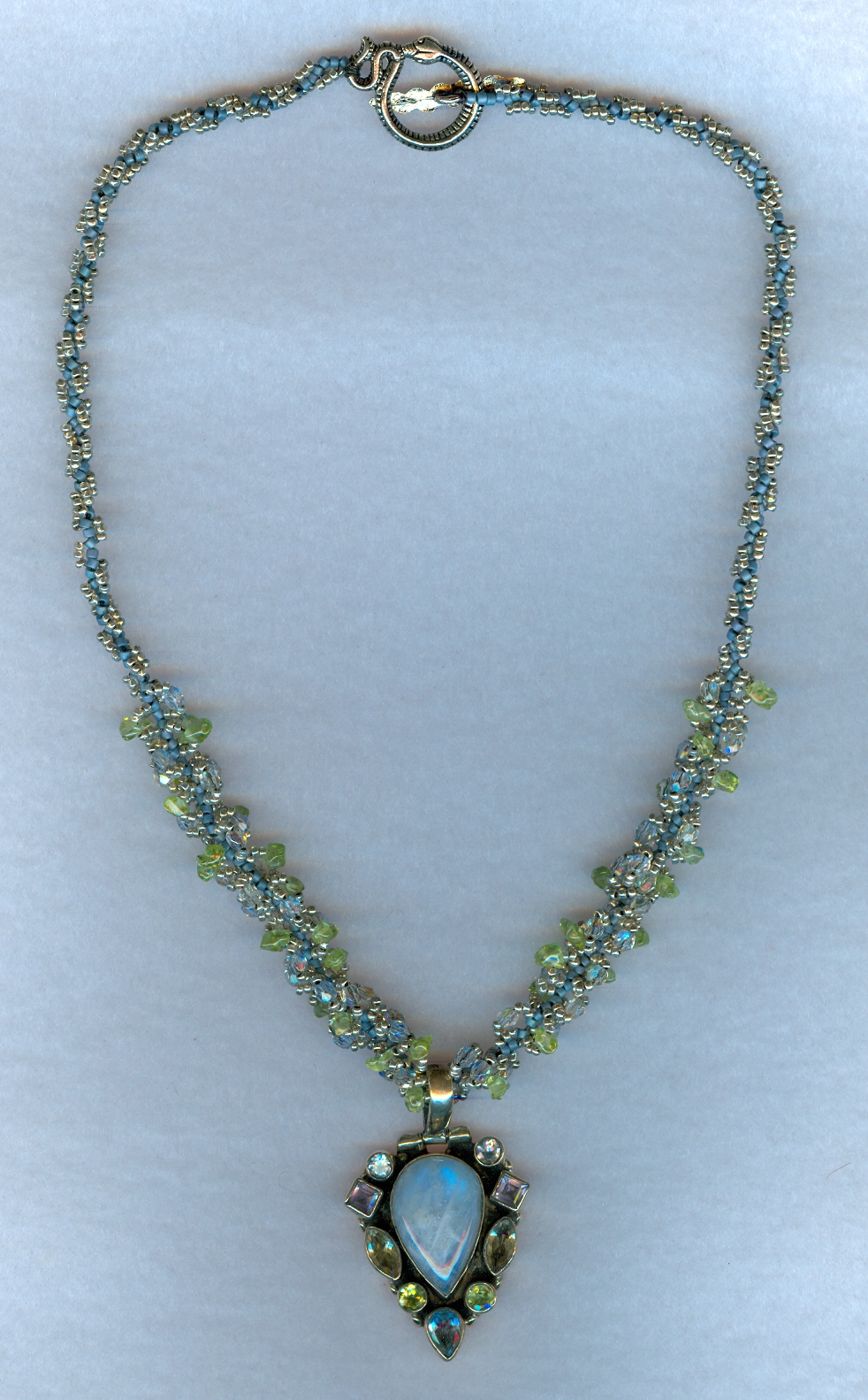 Nepali beaded necklace