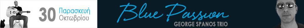 George Spanos trio – Blue Passion