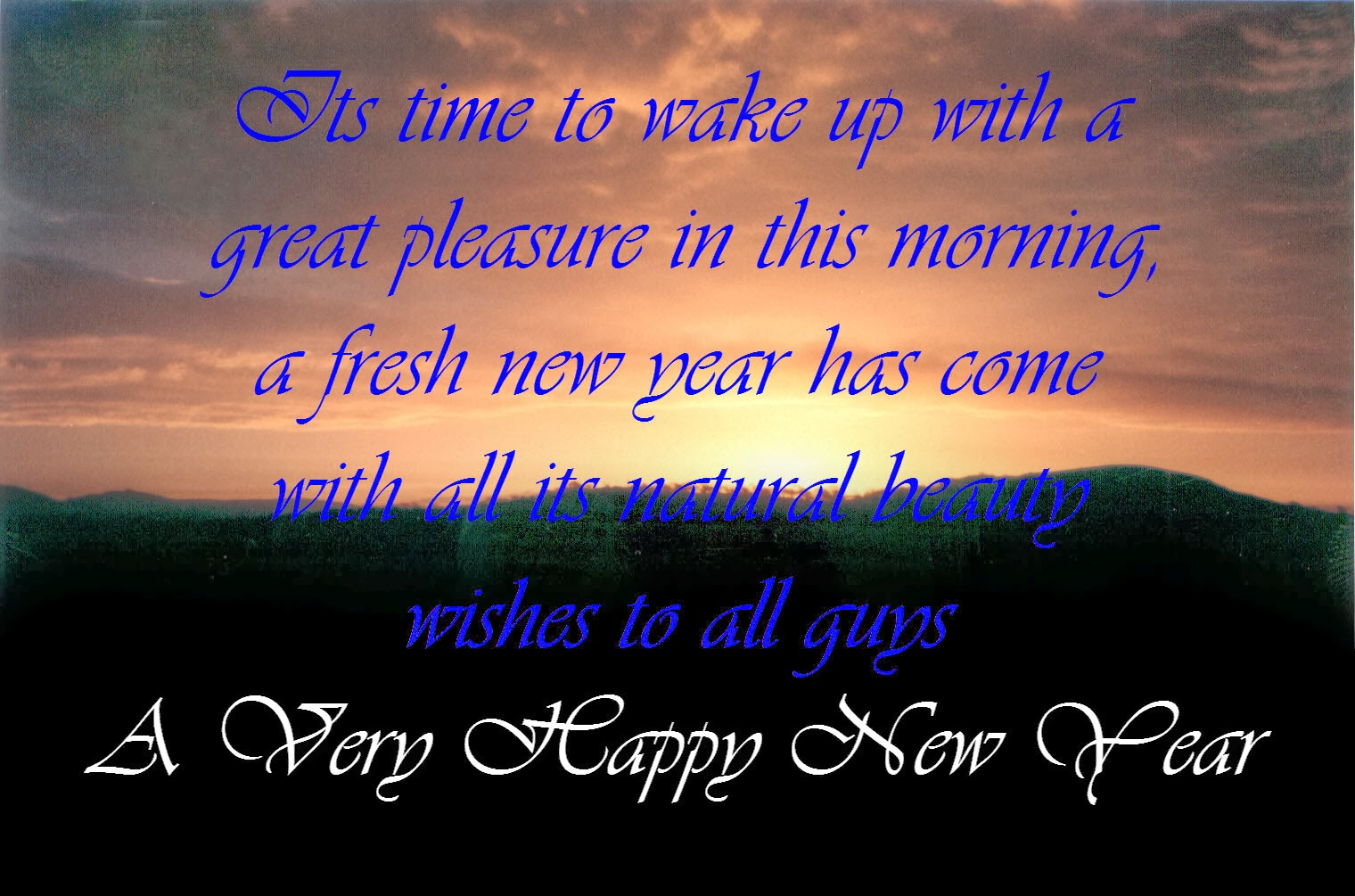 Happy New Year Facebook Status - Best New Year Wishes