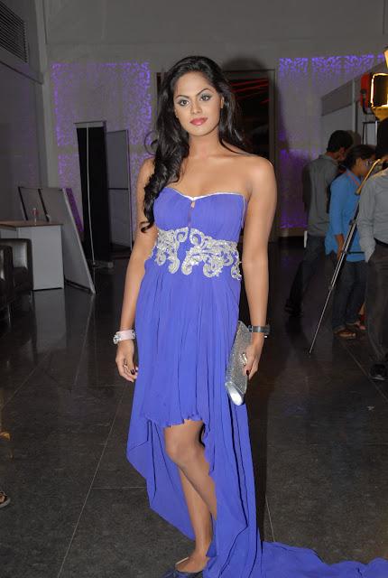 Karthika Nair Latest Hot Photos in Blue Dress