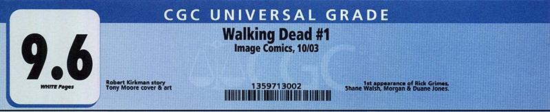 Risultati immagini per CGC Universal Blue Label