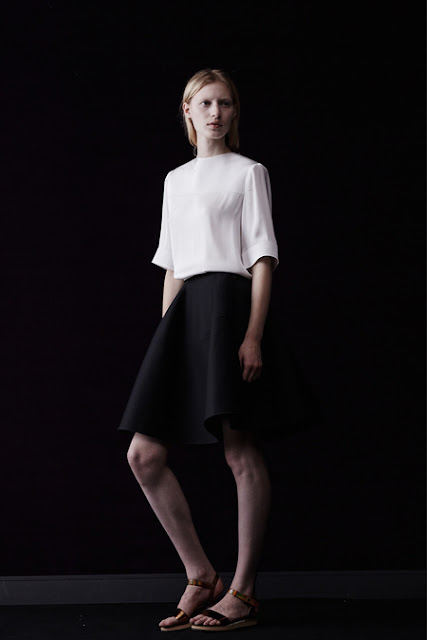 Lanvin, Resort 2014 - classic and cool french girl, nun