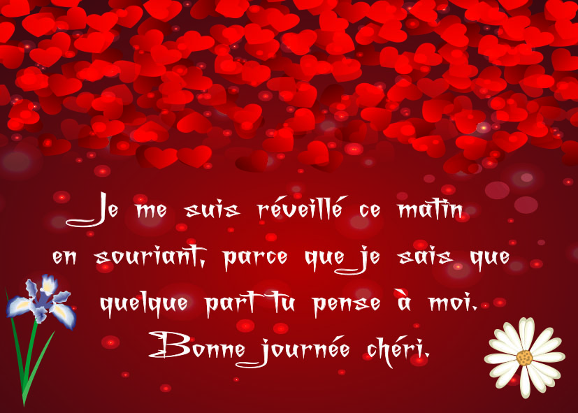 Amour message matin 30 SMS