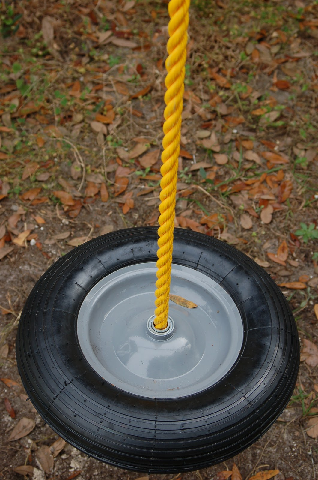 how to build a diy cheap tire swing surviving a teacher