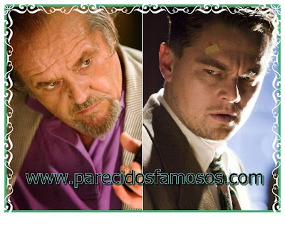 Jack Nicholson y Leonardo Di Caprio