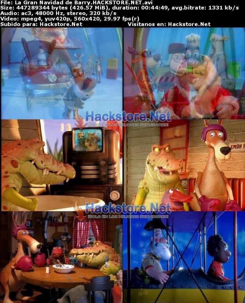 Captura La Gran Navidad de Barry (2003) DVDRip Latino