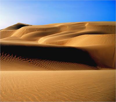 texture on sand