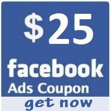 free 25$ Facebook Coupon Code 2012