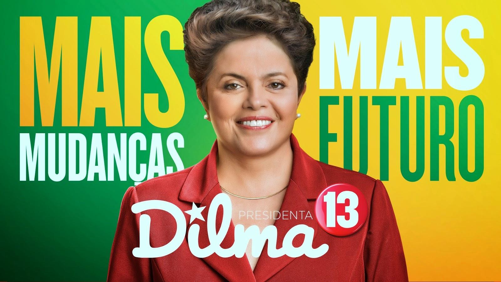 Este Blog apoia Dilma para apronfundarmos as Mundanças para um Brasil Melhor