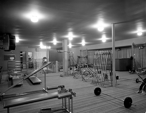 empty boxing gym - photo #29