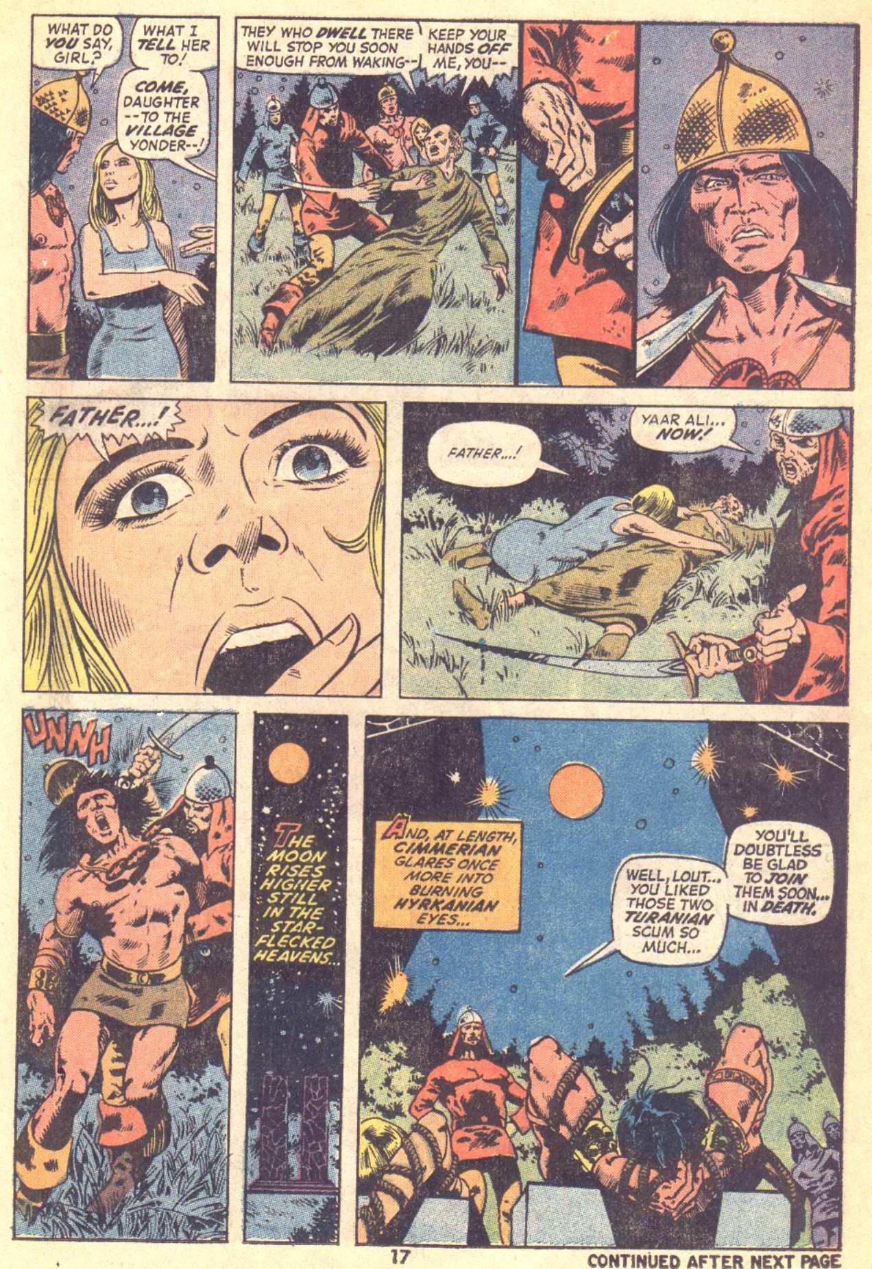 Conan the Barbarian (1970) Issue #21 #33 - English 13