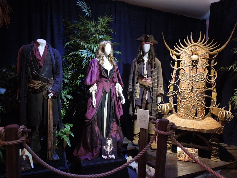 Original Pirates Caribbean At Worlds End movie costumes