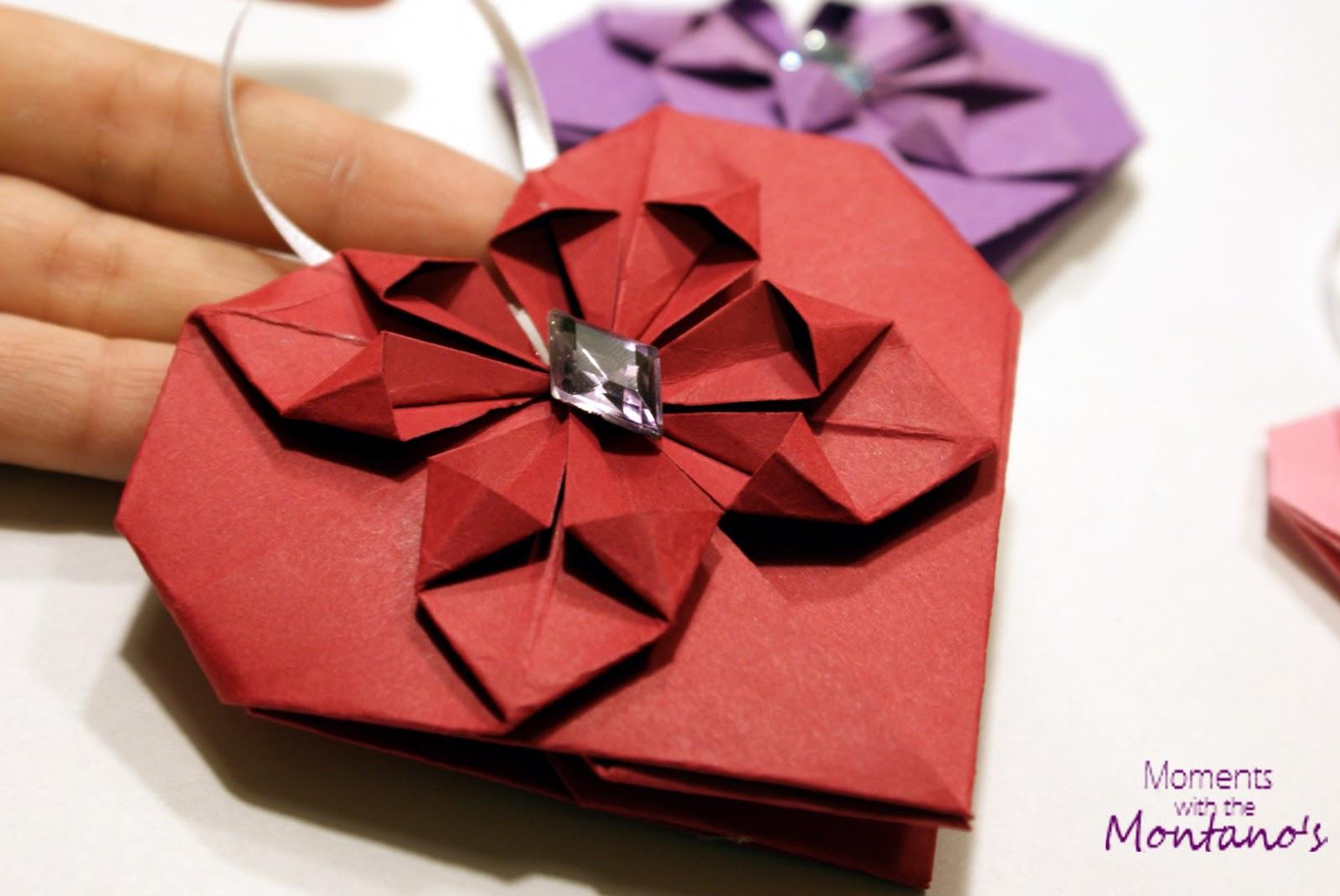 Как сделать оригами сердце 3 д