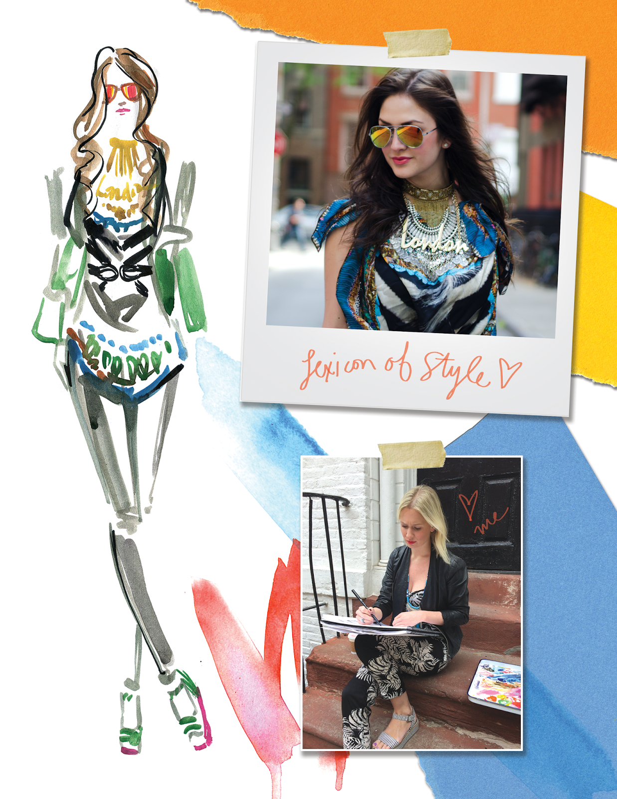 Travel Write Draw: LIVE Fashion Illustrating with Lexicon ...
