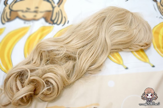 Japan Platinum Blonde Wig