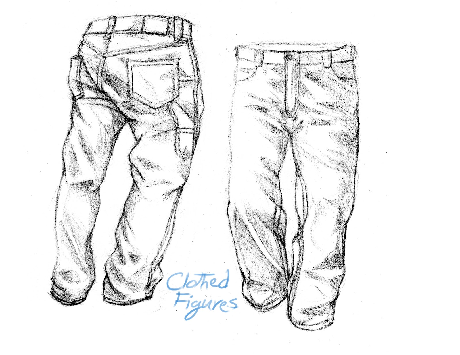 Arash Rod's Art: Clothed Figure Drawings